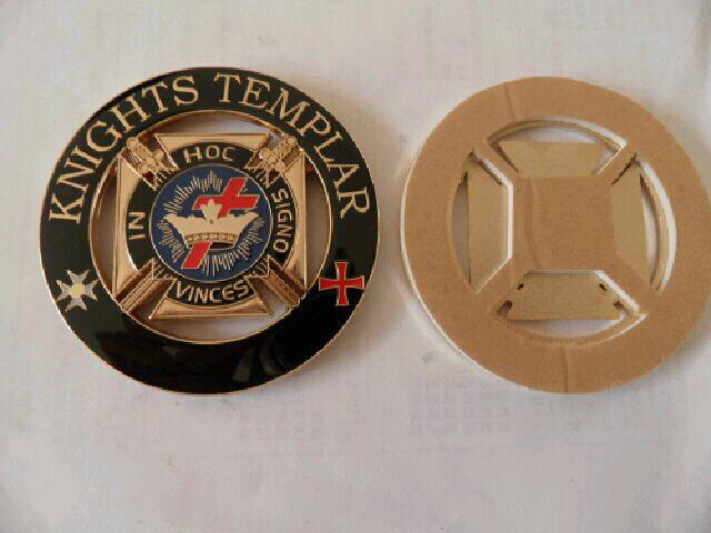 **New Knights Templar** car emblem